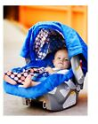 WHOLE CABOODLE CarSeat Canopy 5pc Set for Boy Infant Car Seat Cover Blanket NEW фото
