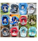 WHOLE CABOODLE CarSeat Canopy 5pc Set for Boy Infant Car Seat Cover Blanket NEW!