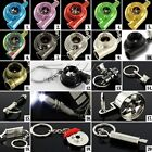 JDM CAR RACING TUNING PARTS TURBO TURBINE PISTON EXHAUST KEYCHAIN SORTED KEYRING