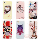 New Adorable Animal Hard Rigid Back Case Cover Skin For iPhone 5 5G 5S