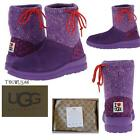 UGG Knit Slouchy Women's GRAPE Knit Boots Sizes: 7,8 NEW