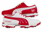 Puma Arsenal Neo Lux Golf Shoes Special Edition Mens Red White (187910 01 D43)