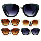 SA106 Womens Retro Fashion Thick Plastic Cat Eye Horn Rim Chic Sunglasses