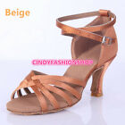 Hot Brand New Woman Ballroom Latin Tango Dance Shoes 5/7 CM Heeled Dancing Salsa