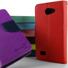 For LG Lancet Wallet Case Cell Phone Flip Pouch Folio Cover & Screen Protector