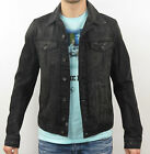 DIESEL GIACCA in jeans ELSHAR GIACCA 00S0Y8-0PAFB-02 Black - nero + nuovo
