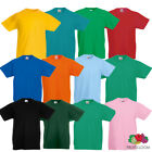 Fruit Of The Loom Kids Tee T Shirt 100% Cotton New