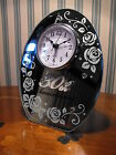 30TH WEDDING ANNIVERSARY GIFT PEARL WEDDING CLOCK GIFT , PEARL WEDDING PRESENT