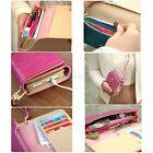 Envelope Card Wallet Leather Purse Case for iphone 6 5 5s 5c 4 4s Samsung S2 S3