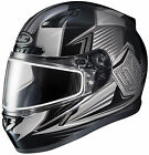 HJC 2015 Adult Striker CL-17 SN MC5 Snow Helmet Black/Silver XS-5XL