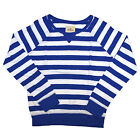 Hollister Shirt Tshirt Womens Bettys Striped Scoop Neck Seagull Applique V426