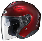HJC 2015 Adult IS-33 II Wine Street Motorcycle Helmet Wine XS-2XL