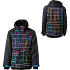 NEW Nomis Simon Signature Shell Jacket  Black Plaid Mens Medium/Large Snowboard