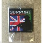 MILITARY CAR AIR FRESHENER SUPPORT OUR TROOPS BRITISH ARMY TRADE WHOLESALE x250