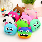 Women Girls Wallet Kawaii Cartoon Animal Silicone Jelly Coin Bag Purse Kids Gift