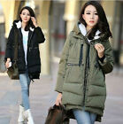 NEW! winter Women's Clothing Long sleeve thicken keep warm Windbreaker coat