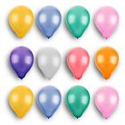 "100Pcs 10"" Colorful Wedding Party Birthday Decoration Round Pearl Latex Balloons"