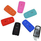 FIT FOR VW PASSAT B6 B7 CC 2006- SILICONE KEY REMOTE HOLDER CASE FOB COVER SHELL