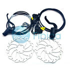 New 2016 MAGURA MT2 Light-weight Hydraulic Disc Brake pair set with Rotors