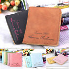 UK New Women's Leather Wallet Coin Purse Clutch Wallet Card Holder Small Bag Top
