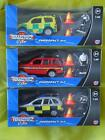 EMERGENCY 4X4 CAR & MAN POLICE FIRE & RESCUE AMBULANCE TEAMSTERZ TOYS NEW BOXED