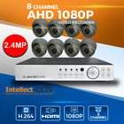8 CHANNEL AHD DVR 8x HD CCTV VIDEO CAMERA SYSTEM 2MP 1080P OUTDOOR/HOME SECURITY