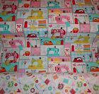 Fabric, Sewing supplies, cotton fabric, quilting supplies, needle & thread, pin