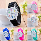 2015 HOT  Women Wrist Watches Silicone Band Motion Analog Quartz Casual Watches