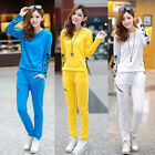 NEW! fashion Women's Clothing long sleeve leisure Sports clothes suit