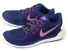 Nike Wmns Free 5.0 Deep Royal Blue/Fuchsia Glow-Fuchsia Flash Running 724383-405