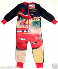 Boys Disney CARS all in one, onesi, onezee,pyjamas, pjs- 18mths - 5yrs nightwear