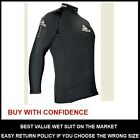 NEW ADRENALIN PP THERMAL RASH TOP LONG SLEEVE BLACK SUPERSTRETCH
