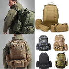 50L Assault Tactical Military Rucksacks Outdoor Camping Hiking Backpack bag