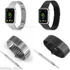 Stainless Steel link Bracelet Loop Strap Watch Band for Apple Watch 38mm 42mm UK