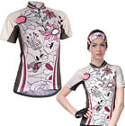 Women's Bike Cycling Jersey Short Sleeve Zipper Breathable Elastic Sports Tops
