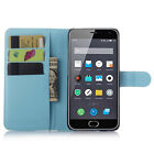 Hot PU Leather Magnetic Wallet Stand Case Cover For Meizu M2 Mini Smartphone