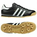 ADIDAS ORIGINALS ROM MENS TRAINERS BLACK-WHITE SIZE 7 - 11 NEW IN BOX