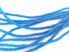 Внешний вид - 2 Strands 4x3mm Rondelle Sea Glass Frosted Beads You Pick Color