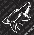 Arizona Coyotes car truck vinyl decal sticker NHL Hockey $3.99 USD on eBay