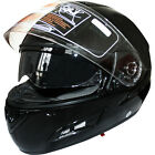 Leopard LEO-826 DVS Full Face Motorcycle Helmet  Motorbike Scooter GLOSS BLACK