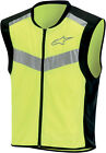 Alpinestars Flare High-Visiblity Motorcycle Riding Vest Yellow Mens All Sizes