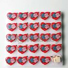 Lot The roses Flashing LED Light Up Badge/Brooch Pins Valentine day gift A031