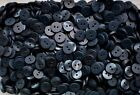 Small 11mm 18L Dark Navy 2 Hole Quality Satin Finish Shirt Buttons Crafts (Z161)