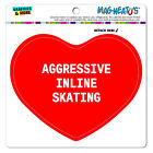 MAG-NEATO'S™ Car Refrigerator Vinyl Magnet I Love Heart Sports Hobbies A-B