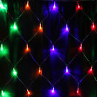 672 LED Multi-color Bulbs Mesh Net String Xmas Party Wedding Ornament Light
