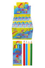 Mini colouring pencils12,36,48,96,100 pinata party loot bags lucky dip fillers