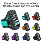 Sports Jogging Gym Running Armband Holder Case Cover Pouch For Motorola Moto E