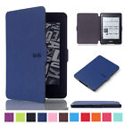 Luxury Leather Flip Magnetic Smart Sleep Case For Amazon Kindle Paperwhite 1 2 3