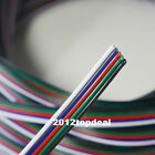 NEW 1M -100M Extension Cable Line for 5050 RGBW RGBWW LED Strip 5pin Cord Wire
