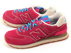 New Balance ML574GEX D Pink & Blue & Beige Lifestyle Classic Retro Sneakers NB